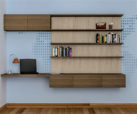 study desk and bookshelf contemporary and colorful study table design ideas