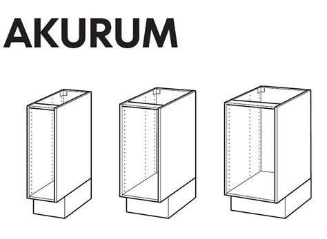 ikea kitchen cabinet installation instructions ikea akurum base cabinet frame assembly instruction