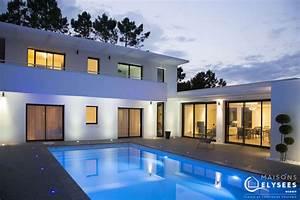 Maison Architecte Plan : villa contemporaine d 39 exception style californien ~ Dode.kayakingforconservation.com Idées de Décoration
