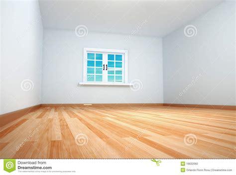 Leerer Raum Mit Dem Fenster Geschlossen Stock Abbildung