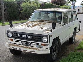 nissan patrol wikivisually