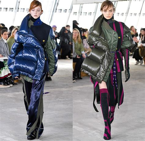 sacai   fall autumn winter womens runway denim