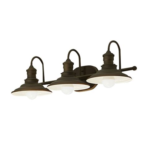 Lowes Lighting Fixtures Bathroom by For The Bathroom Shop Allen Roth 3 Light Hainsbrook