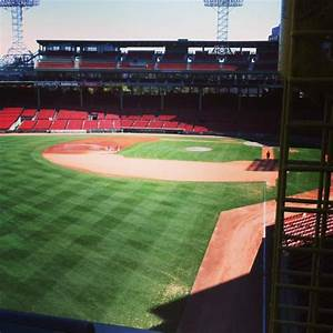 Chicago White Sox Seating Chart View Fenway Park Section Green Monster 1 Row 1 Seat 1