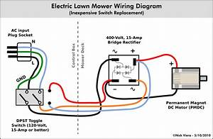 Nick Viera  Electric Lawn Mower Switch Repair