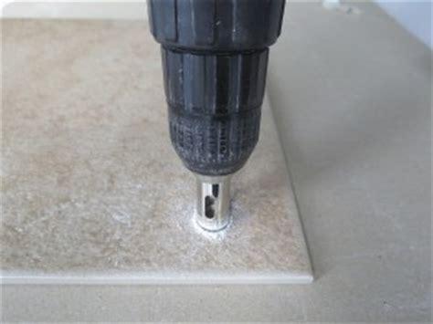 drilling through tile drilling into porcelain tiles