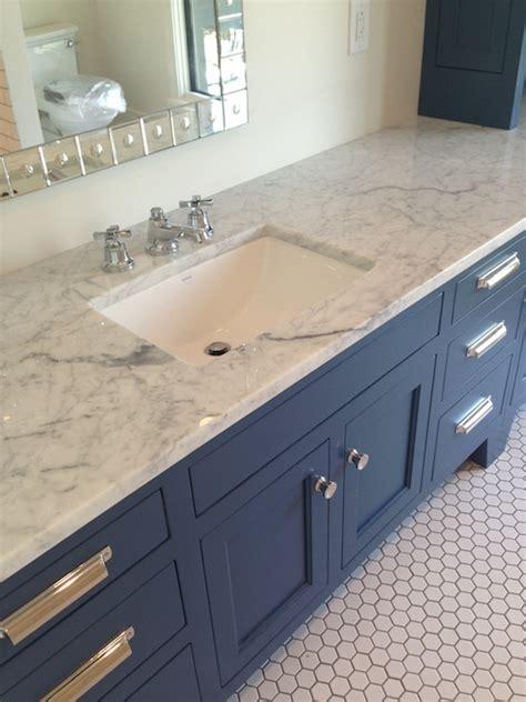 blue bathroom vanity cabinet blue vanity contemporary bathroom tracery interiors