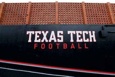 texas tech class tunnel football field signee stadium recruiting overall rough breaking grade diamond down dallas lubbock leading jones painted