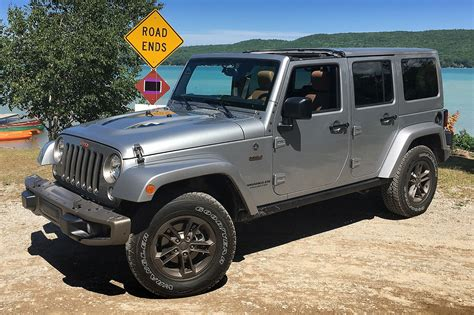 jeep wrangler unlimited one week with 2016 jeep wrangler unlimited 4x4 75th edition automobile magazine