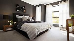 Chambre Noir Gris. rideaux chambre coucher rouge et noir avec des id ...