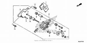 Parking Brake Caliper For 2014 Honda Nc700