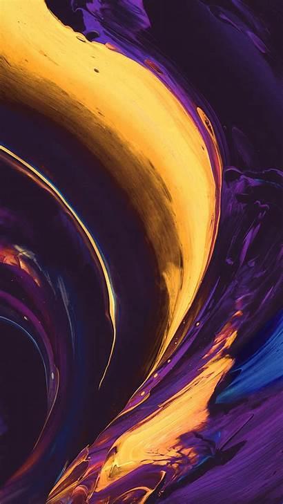 Yellow Purple Abstract Paint Grey Vs33 Htc