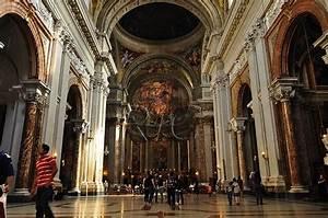 Roma La chiesa di S Ignazio di Loyola