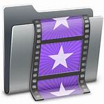 Icon 3d Folder Movies Icons Ico Hyperion