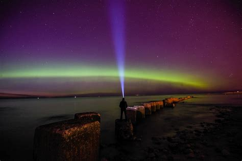 Pictures Northern Lights Put On Stunning Display Over