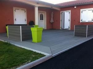 Terrasse Lame Composite : lame terrasse en bois composite mdsa france ~ Edinachiropracticcenter.com Idées de Décoration