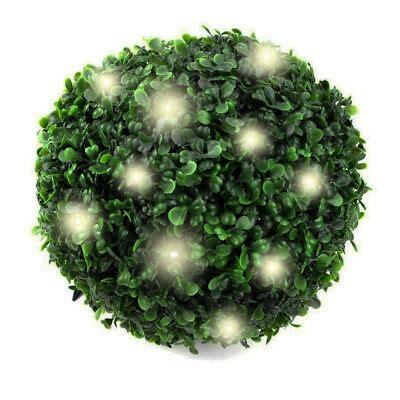 buchsbaum künstlich mit beleuchtung led solar garten buchsbaumkugel k 252 nstlicher buchsbaum solarlicht beleuchtung eur 19 99