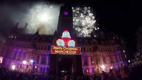 manchester lights switch on 2016 dates location