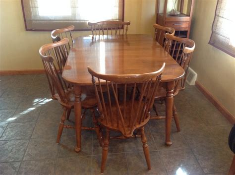 vintage ethan allen kitchen table  chairs wow blog