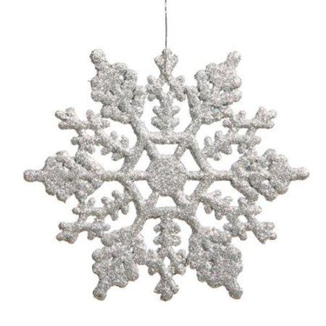 Snowflake Decorations Great Choice For Subtle Holiday