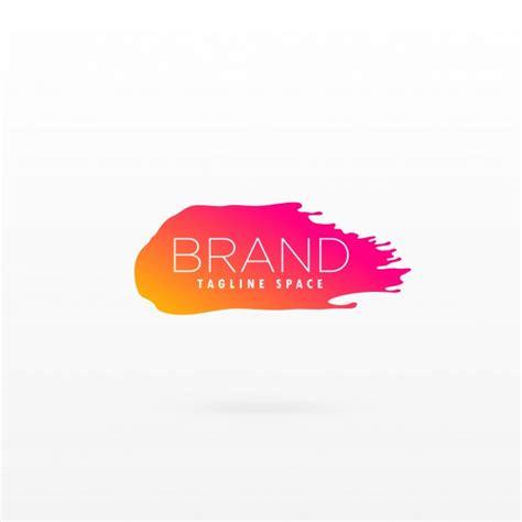 modern logo design colorful modern logo design vector free