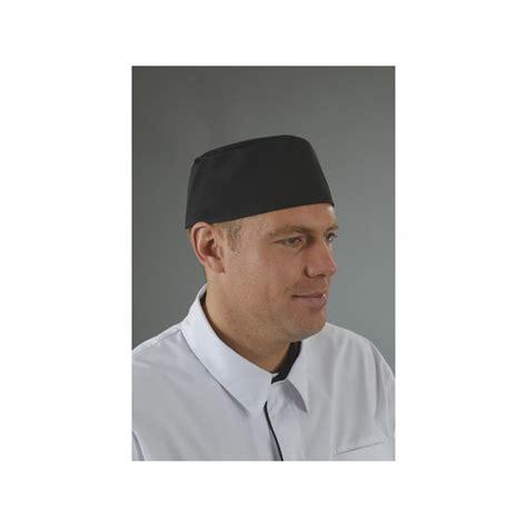 toque cuisine toque plate cuisinier pm8v03 ou calot cuisinier pm8v03 label blouse