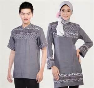 baju muslim couple  terbaru murah modis