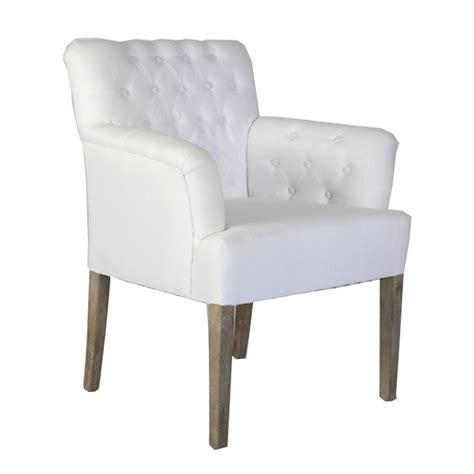 white tufted arm chair oak framed