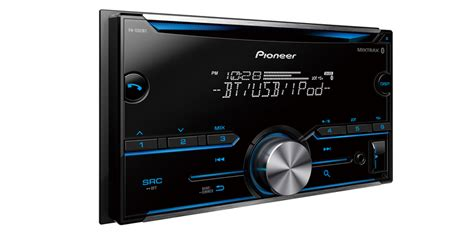 fh s501bt din cd receiver with improved pioneer arc app compatibility mixtrax 174 built