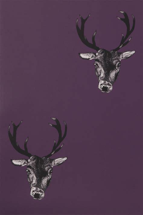 wallpaper design for home interiors stag wallpaper plum monument interiors