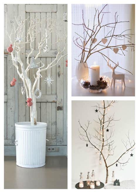 una pizca de hogar 11 193 rboles de navidad con ramas secas