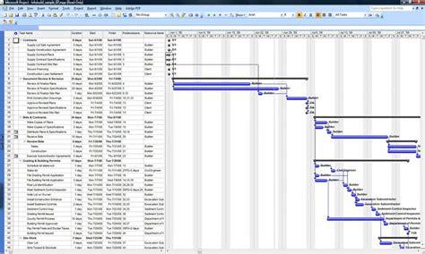 commercial construction schedule commercial construction schedule template templates data