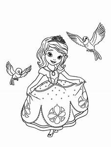 Coloriage Princesse Sofia Les Beaux Dessins De Disney