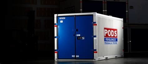 commercial containers   business pods