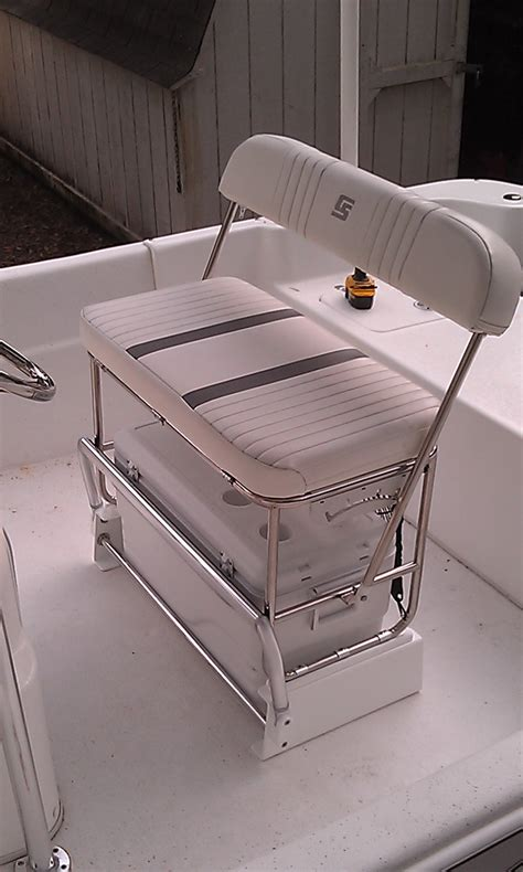 Skiff Boat Seats by Carolina Skiff Cooler Seat Kit For Stainless Swingback Seat