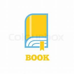 New book logo icon flat style design. Book logo. New book ...