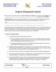 rental management agreement template 28 images free With rental property management documents