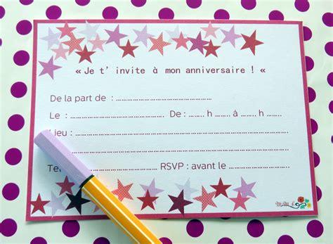 Invitation d'anniversaire 10 ans gratuit à imprimer. Afficher l'image d'origine (avec images)   Carte invitation anniversaire, Modele carte ...