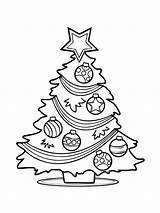 Tree Christmas Coloring Pages Presents Printable Holiday Recommended Getcoloringpages Mycoloring sketch template