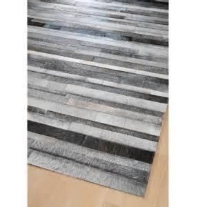 tapis jacob gris 200x300 home spirit With tapis peau de vache avec alinea canape convertible cuir