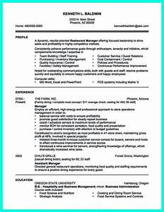 your catering manager resume must be impressive to make With impressive resume examples