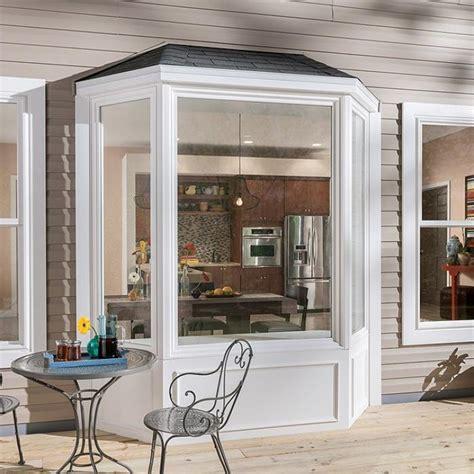 bay bow windows vinyl aluminum fiberglass window milgard
