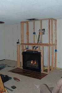 how to build a fireplace DIY Gas Fireplace Surround | Fireplace in 2019 | Pinterest | Diy fireplace, Fireplace design and ...