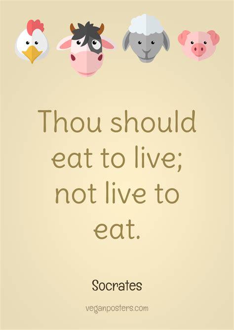 thou  eat      eat vegan posters