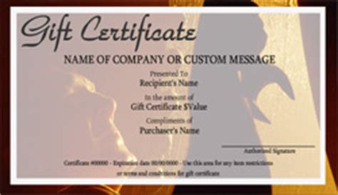 Automotive Gift Certificate Template Free by Movers And Moving Company Gift Certificate Templates