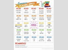 Summer Reading Bingo Free Printable Simply Being Mommy