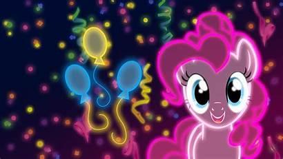 Pie Pony Pinkie Neon Magic Friendship Wallpapers