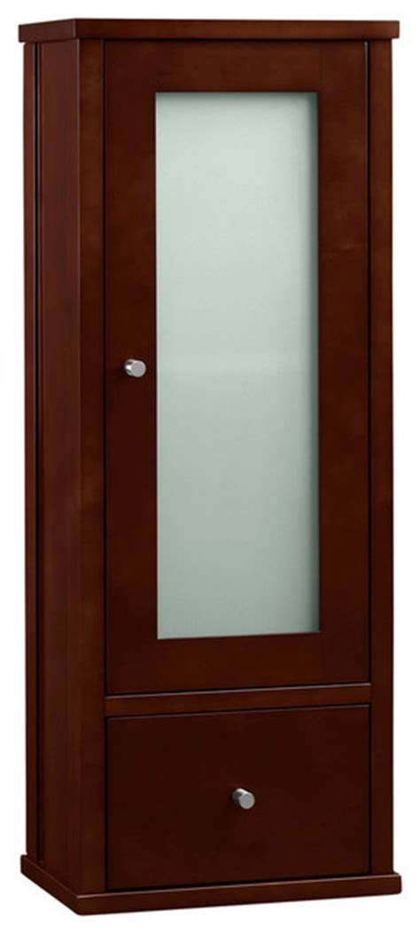 Ronbow Lighted Medicine Cabinet by Ronbow Contemporary Bathroom Wall Cabinet Cherry 32