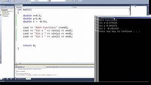 C How To : programming in c c episode 0038 math functions sin ~ A.2002-acura-tl-radio.info Haus und Dekorationen