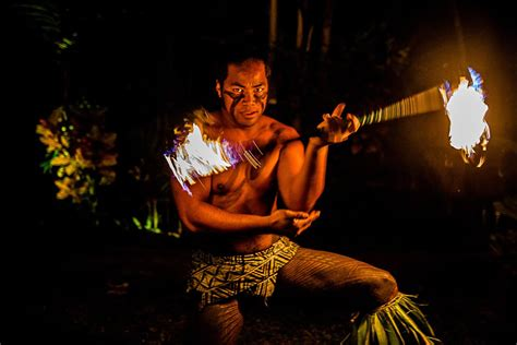 oahu wedding fire dancers benjamin strong usa